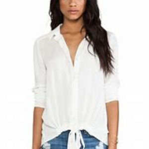 Stella Tie Front Blouse